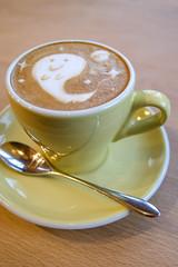 Halloween Ghost Cappuccino