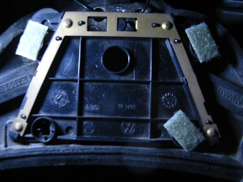 福斯T4方向盤喇叭蓋開關修復