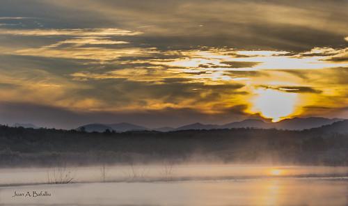 La laguna del Sol naciente