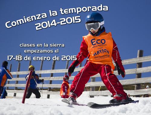 Inaugurada la temporada 2014-2015