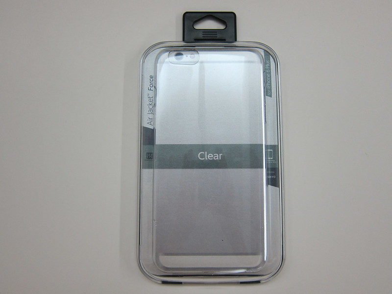 Power Support - Air Jacket Force (Clear) for iPhone 6 Plus - Box Front