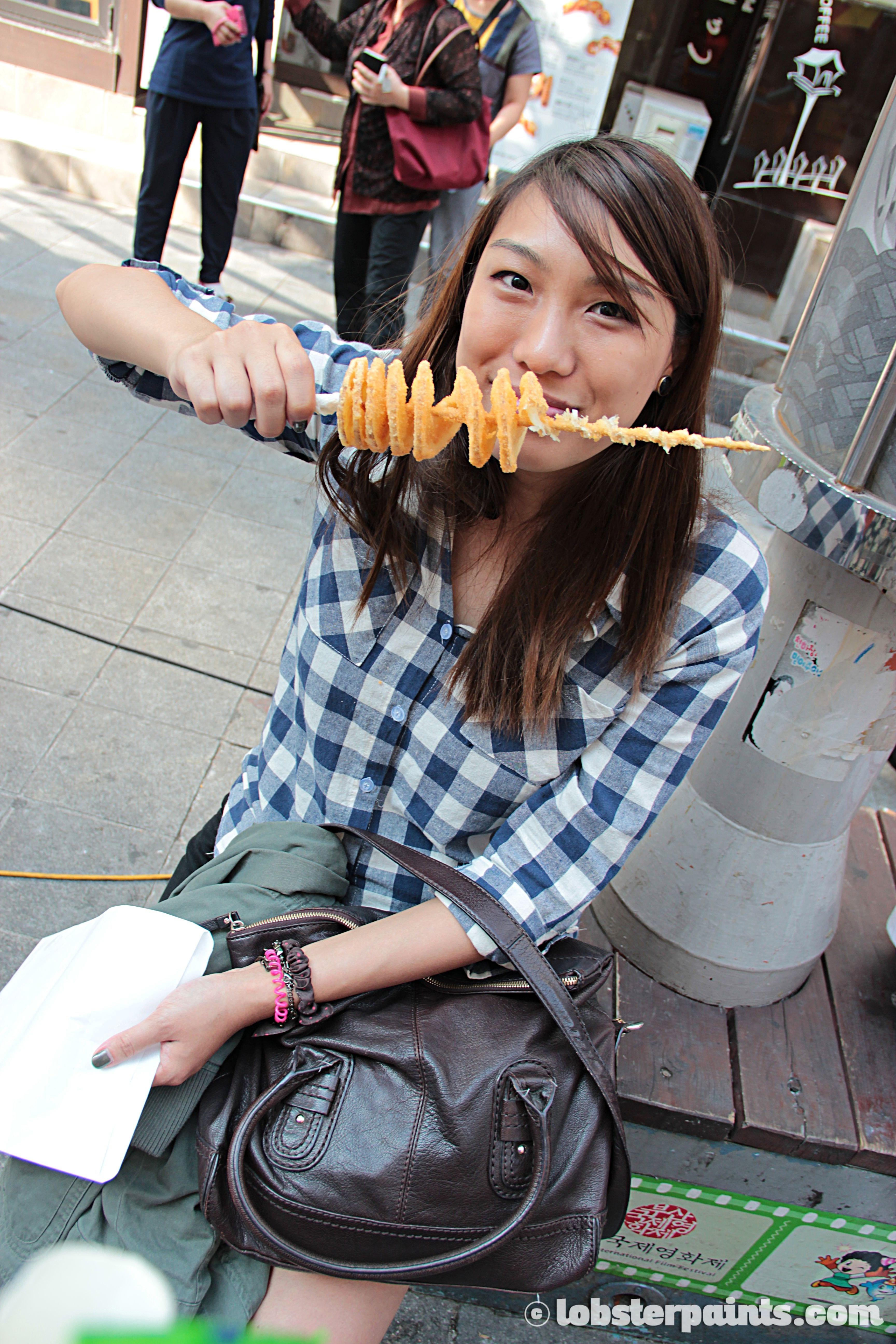 27 Sep 2014: Street food at BIFF Square | Busan, South Korea