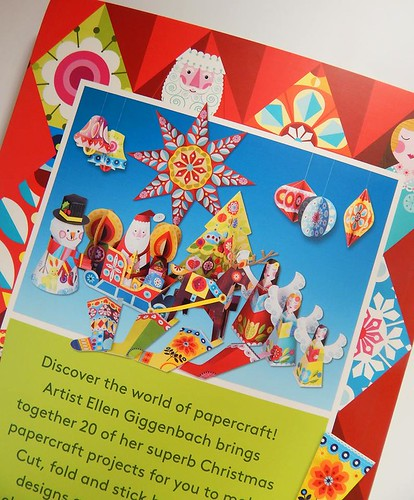 Papercraft Christmas by Ellen Giggenbach - back cover
