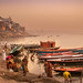 Varanasi, Assi Ghat at sunrise by **luisa**