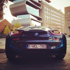 Shooting a beemer voiture #i8 #edrive #bmw