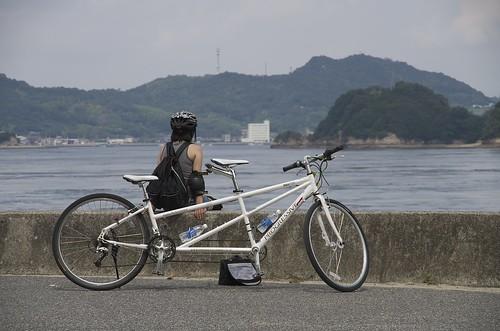 能島を望む