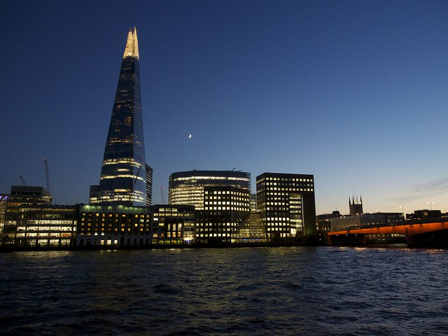 The Shard, London, England, River Thames, London Bridge, travel