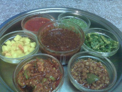 Indian pickles Gujarati style