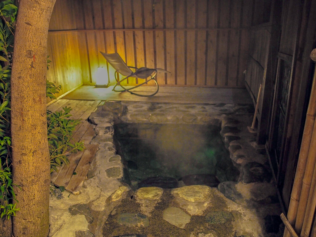 Japanese Open-Air Bath