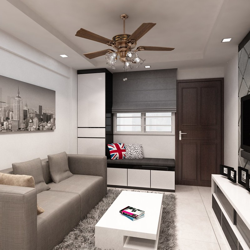 Hdb 3 room 30k bukit merah for 3 room hdb design ideas