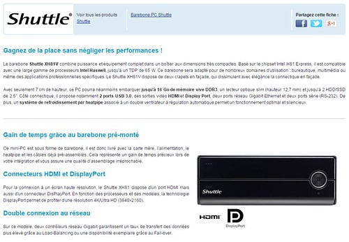 2014-12-01 15_18_36-Shuttle XH81V (Intel H81 Express) (XH81V ) _ achat _ vente Barebone PC sur ldlc.