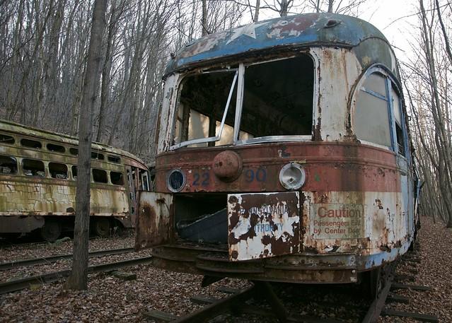 Trolley Graveyard