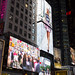 Pequeña y discreta publicidad - Times Square - New York