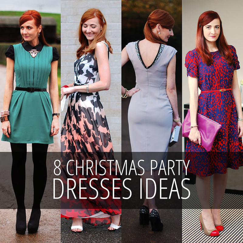 8 Christmas party dresses ideas