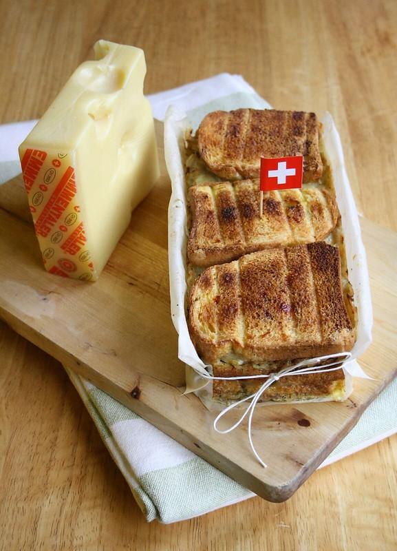 Sformato di verza, pane ed Emmentaler DOP