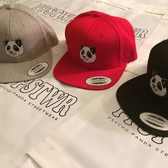 All new Snapback colorways and other headwear for the fall/winter release in the Nordstrom Pop Up Shop this Saturday at Pentagon City. See the full collection at www.PsychoPandaStreetwear.com #ppstwr #streetwear #savethepandas #snapback #headwear #lovewha