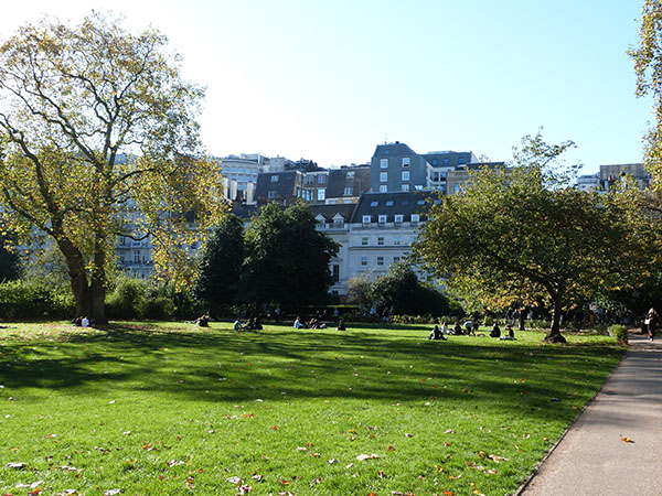 Lincoln's inn green