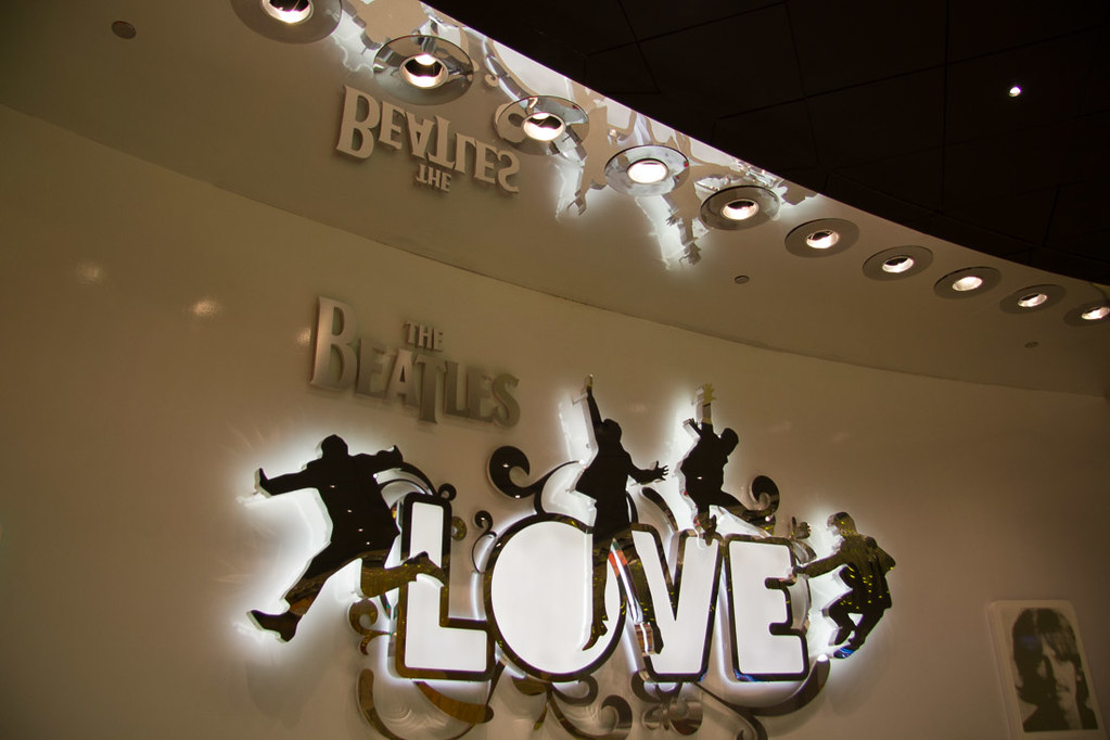 Lobby of Love Theater at Mirage