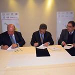 Firma de acuerdo de colaboración y alianza estratégica entre FUNGLODE, TVUNAM y SPR