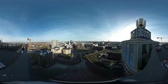 360 degree view from the top of Dortmunder U