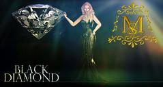 {Meghindos} ~ Black Diamond Gown ~