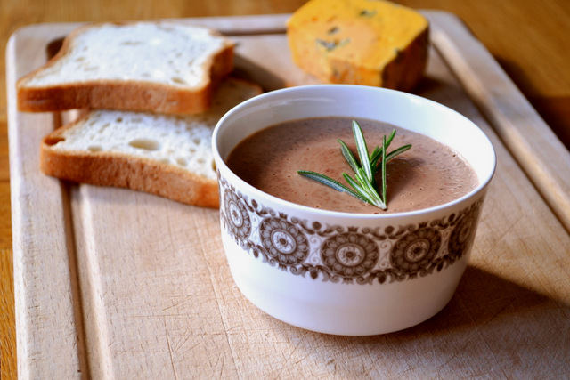 Recipe for Lamb Liver & Rosemary Pate