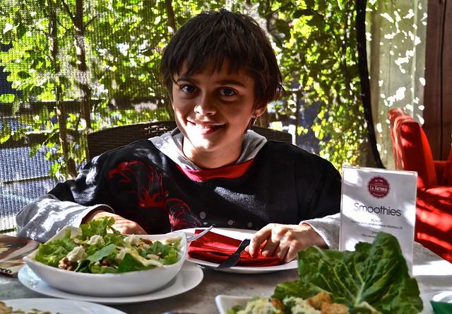cesar salad - la fattoria italian restaurant guatemala city