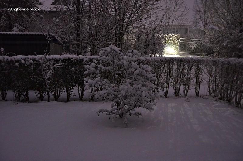 First snow 27.12.2014