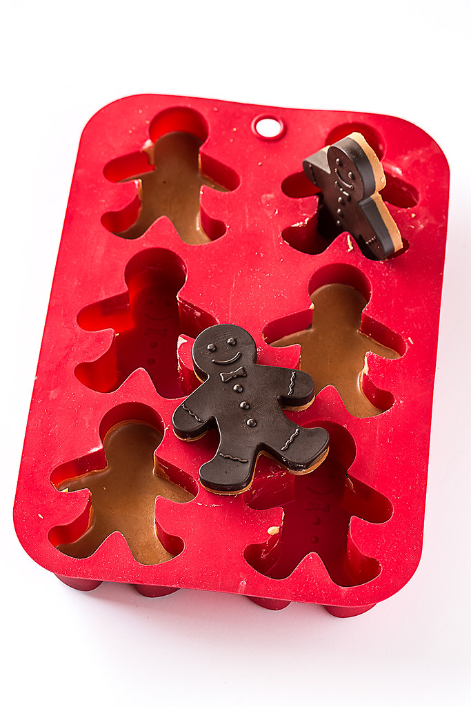 Peanut Butter Gingerbread Men