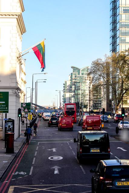 Londres desde el autobús