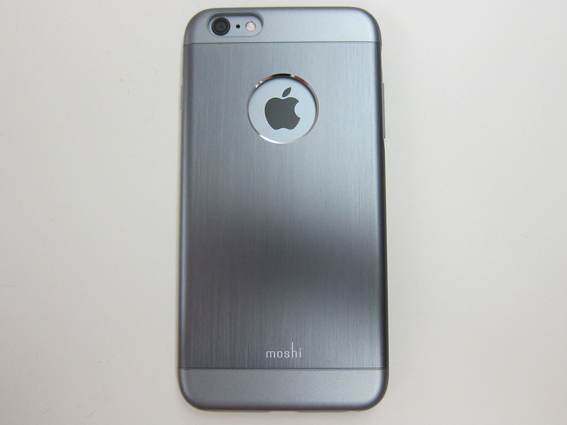 Moshi iGlaze Armour (iPhone 6 Plus) - With iPhone 6 Plus Back