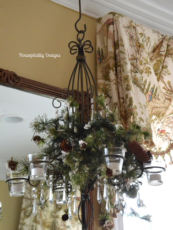Sunroom Chandelier-Housepitality Designs
