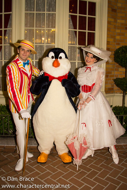 Mary Poppins, Bert and Mr Penguin