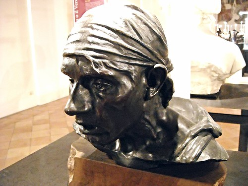 "Study for ""Proximus Tuus"" - bronze by Achille D'Orsi (Naples 1845-1929) - Private Collection, now at Exhibition ""The Beauty or the Truth. Sculptures in Naples"" at San Domenico Maggiore in Naples, until January 31, 2015; free entrance"