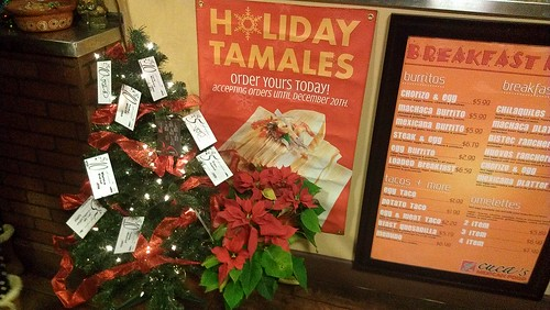 Holiday Tamale Sign