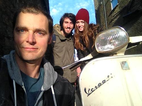Io, Leandro e Stefania