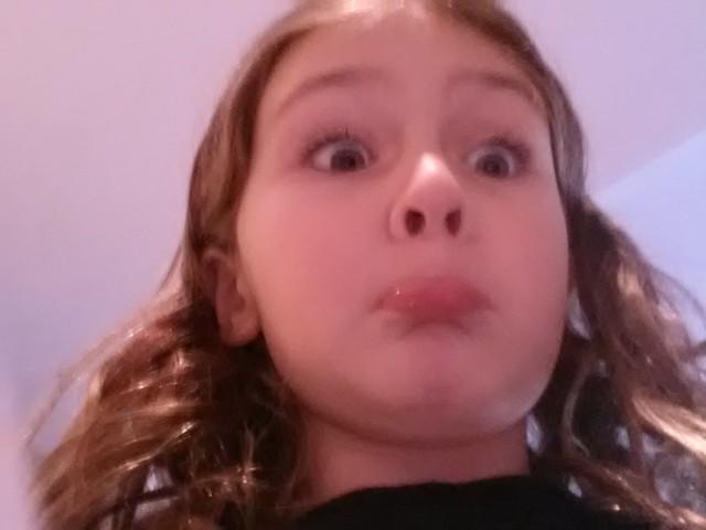 Katie selfie