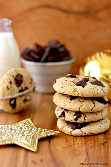 chocolate chip gingerbread cookies4