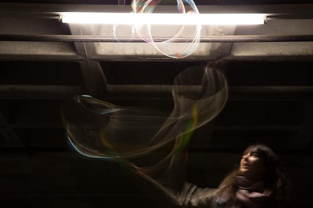 Bubble Popping Setup