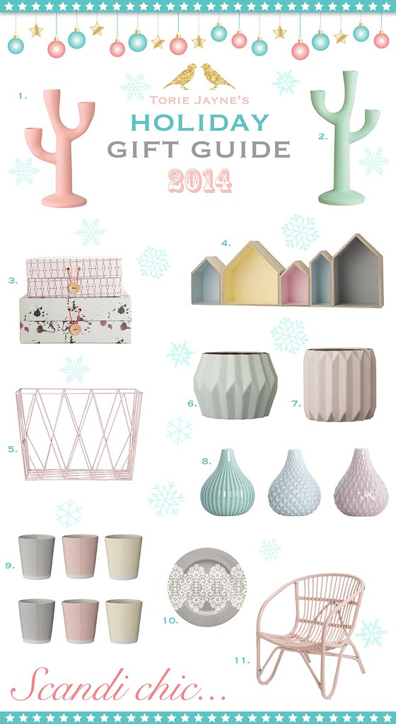 Scandi chic...Gift Guide 2014
