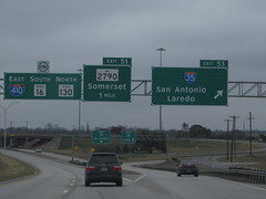 Junction of Interstate 35 With Interstate 410