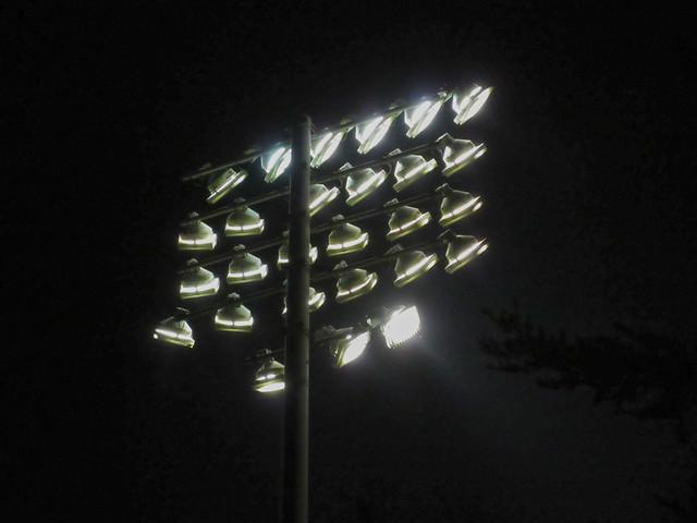 Kezar Statium lights (2014)