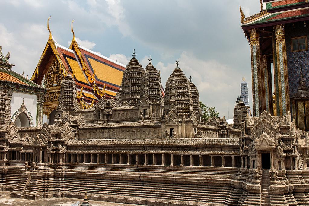 מקדש אנגקור ואט בבנגקוק