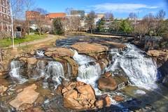 Reedy River Falls in Greenville SC