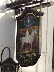 The White Horse - York Street, Harborne - pub sign