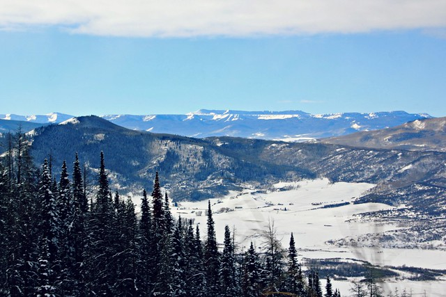 Mountains outside of Steamboat Springs, Colorado