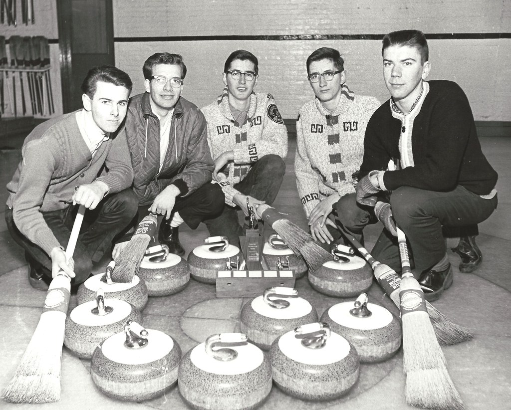 Hamilton Secondary School Curling Champions - February 25, 1964