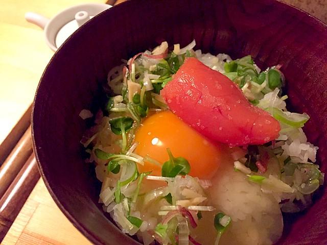 卵かけごはん@立呑み なぎ