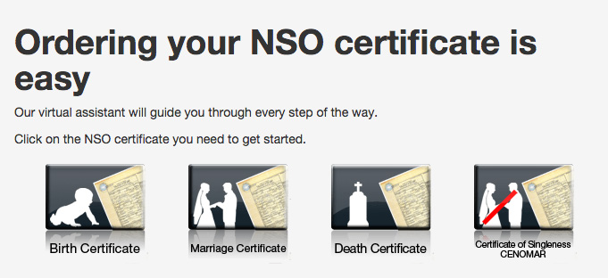 How to get NSO Certificate Online - Birth, Marriage, Death or CENOMAR
