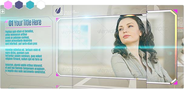 Custom-Color Glass Corporate Displays 2